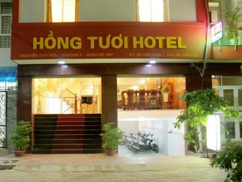 Hong Tuoi Hotel front view
