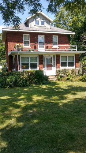 Historic, 2 story brick house, large fenced in yard