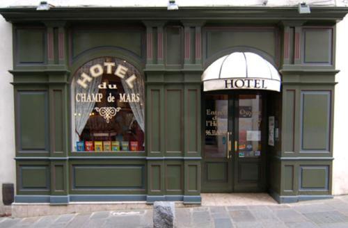 Contact Hôtel du Champ de Mars de Saint-Brieuc