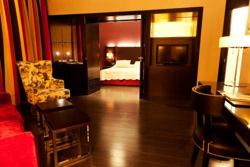 Junior Suite Hotel Boutique Gareus 1
