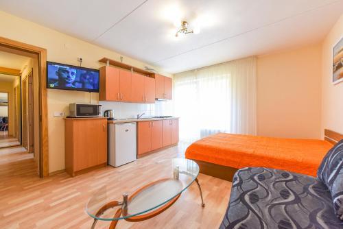 Šviesus dviejų kambarių butas su balkonu Žvejų g., 帕兰加