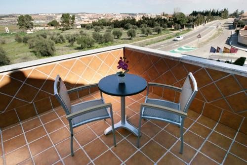 Habitación Doble con terraza - 1 o 2 camas Hotel la Bastida 7