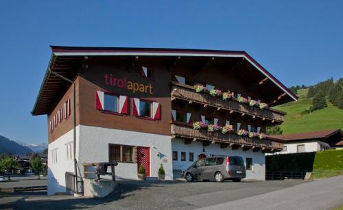 TirolApart am Lift - Apartment mit 2 Schlafzimmern mit Balkon