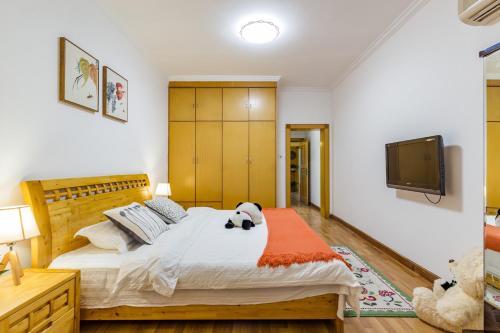 Dujiangyan Scenic Area Teacher Elegant Style Apartment, Dujiangyan