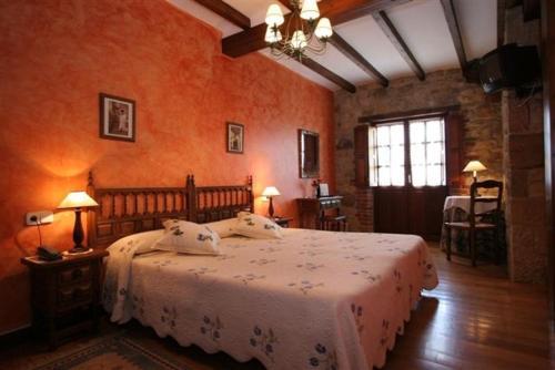 Habitación Doble con bañera de hidromasaje Hotel Rural Posada El Solar 3