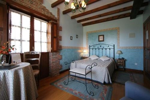 Habitación Doble con bañera de hidromasaje Hotel Rural Posada El Solar 1