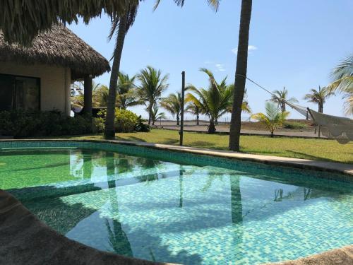 Amazing Ocean Front Home MR033, Monterrico