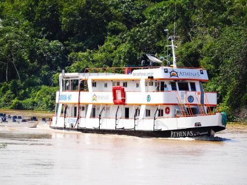 Barco Hotel Athenas do Pantanal