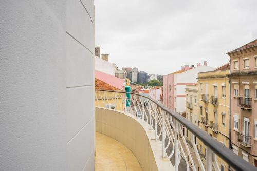 Central 3 bed apartment next to Praça de Espanha