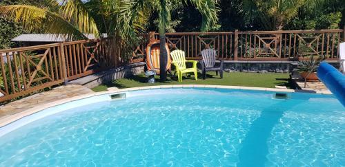T2 avec accès piscine SUD- OUEST de la Réunion, Les Cocos