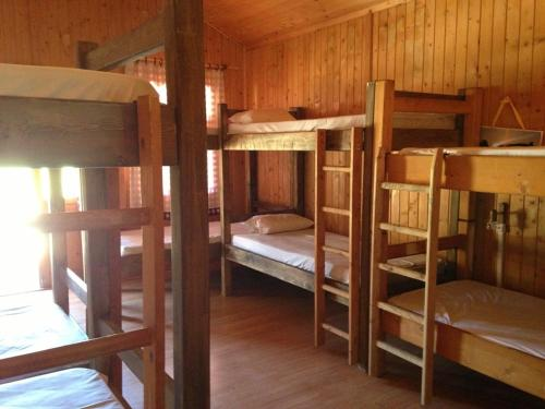 4 Single Beds in Mixed Dormitory Room (2 Adults + 2 Children)