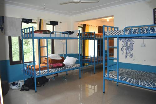 混合宿舍(双层床) (Bunk Bed in Mixed Dormitory Room)