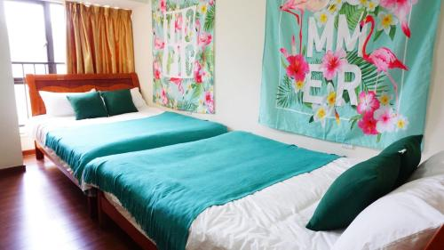 Habitació Doble Deluxe amb 2 Llits Dobles (Deluxe Double Room with Two Double Beds)