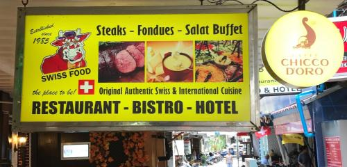 Swiss Food Restaurant and Hotel