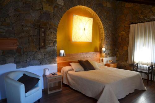 Superior Double Room with Terrace Hotel Galena Mas Comangau 11