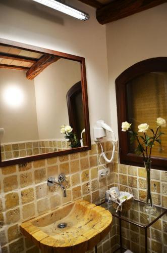 Habitación Doble Superior con terraza Hotel Galena Mas Comangau 10