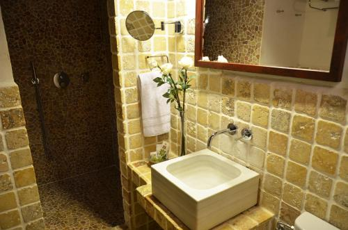 Habitación Doble Superior con terraza Hotel Galena Mas Comangau 8
