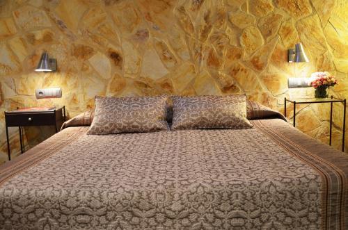 Habitación Doble Superior con terraza Hotel Galena Mas Comangau 9