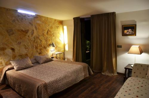 Habitación Doble Superior con terraza Hotel Galena Mas Comangau 15