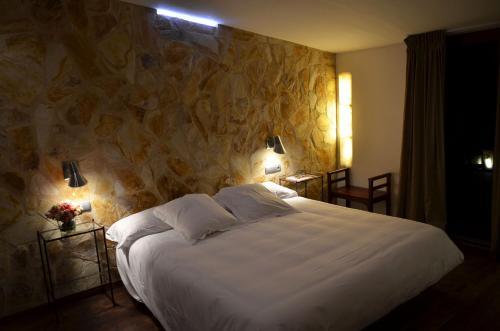 Habitación Doble Superior con terraza Hotel Galena Mas Comangau 1