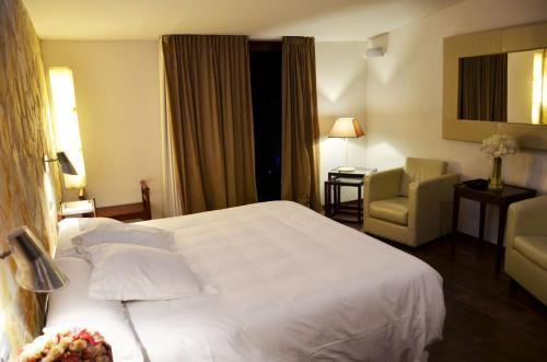 Habitación Doble Superior con terraza Hotel Galena Mas Comangau 13