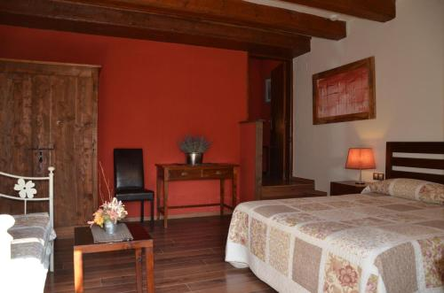 Double or Twin Room Hotel Galena Mas Comangau 12