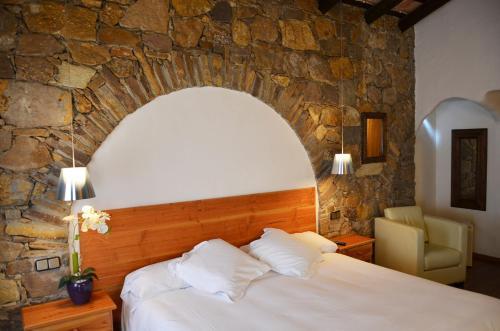 Double or Twin Room Hotel Galena Mas Comangau 13