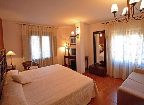 Doppel- oder Zweibettzimmer Hotel Spa Villa de Mogarraz 1