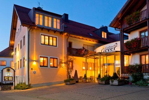 Отель Landhotel Geyer 4 звезды Германия