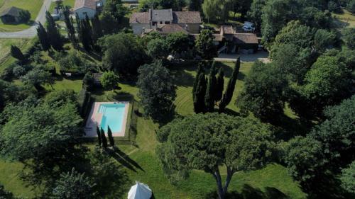 Loft d'artistes avec piscine à 15mn de la rocade de Toulouse