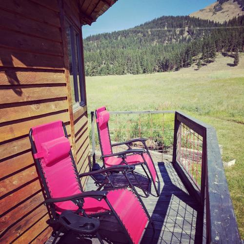 Northern Montana Yurt