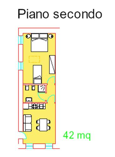 一卧室公寓 - 阁楼 (One-Bedroom Apartment - Attic)