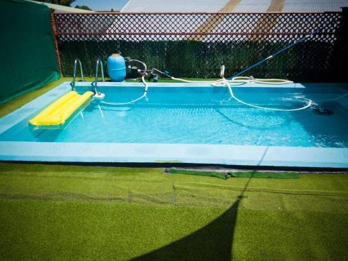 villa with 3 bedrooms in vitigudino, with private pool, furnished terrace and...