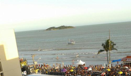 Cobertura na Praia Piúma-ES