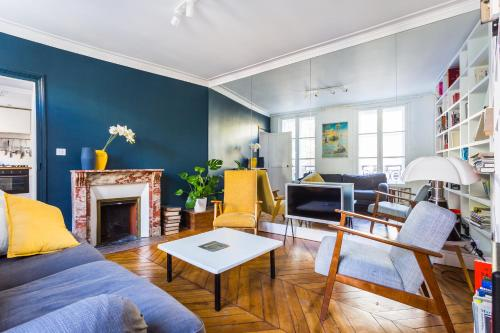 New! A perfect flat next to Luxembourg Garden