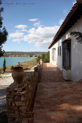 Double Room with Lake View Hotel Balneario de Zújar 4
