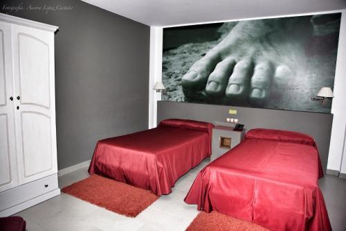 Doppel- oder Zweibettzimmer Hotel Balneario de Zújar 2