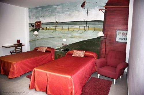 Doppel- oder Zweibettzimmer Hotel Balneario de Zújar 3