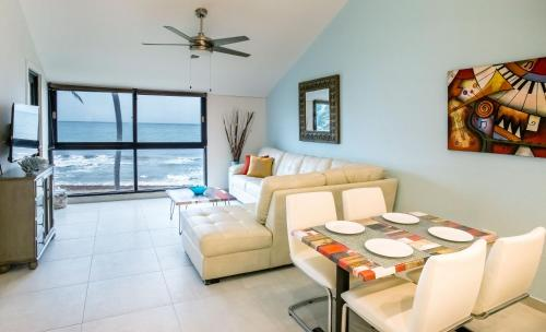 BV103 - Amazing Oceanfront Condo steps from beach, Humacao