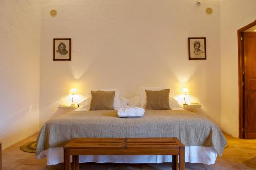 Double or Twin Room with Terrace Alcaufar Vell Hotel Rural & Restaurant 2