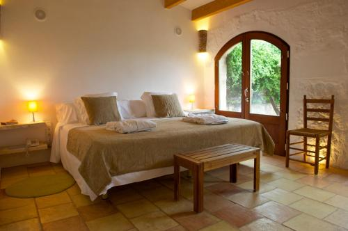 Double or Twin Room with Terrace Alcaufar Vell Hotel Rural & Restaurant 1