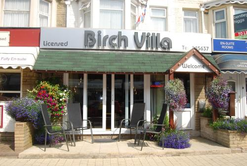 Photo of Birch Villa Hotel Bed and Breakfast Accommodation in Blackpool Lancashire