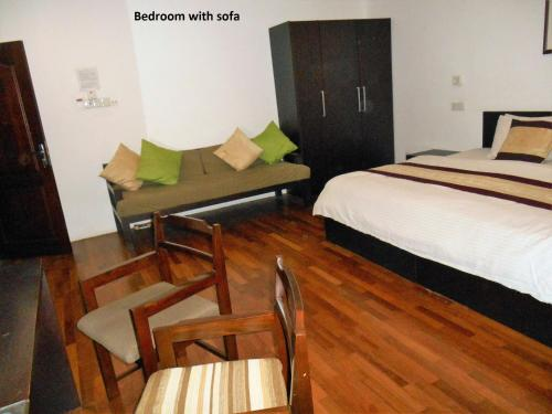 7HCR Residencies 2 bed studio 2-1 in Colombo 2