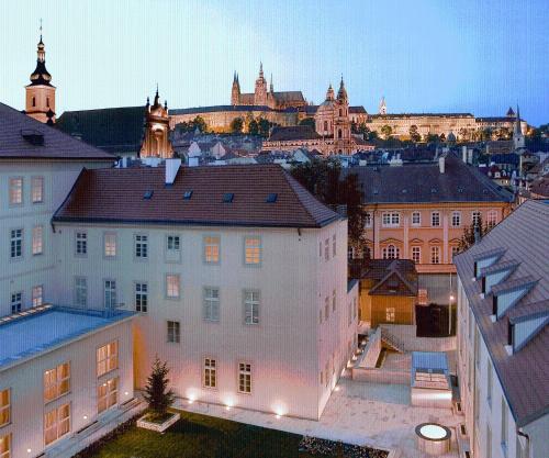 Отель Mandarin Oriental, Prague 5 звёзд Чешская Республика