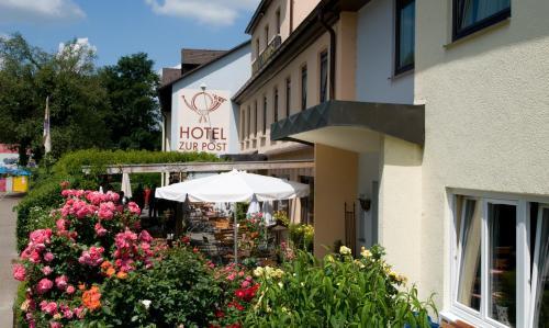 Отель Hotel zur Post 3 звезды Германия