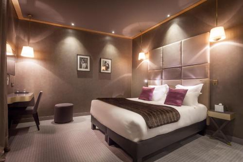 Hotel armoni paris h tel 7 villa berthier 75017 paris for Hotels 75017