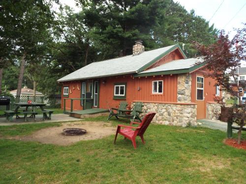 Crooked Lake Resort Cabin 5 (Sportmans Lodge )