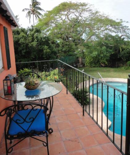Waterfront home with pool near Horseshoe Bay Beach, Bermuda