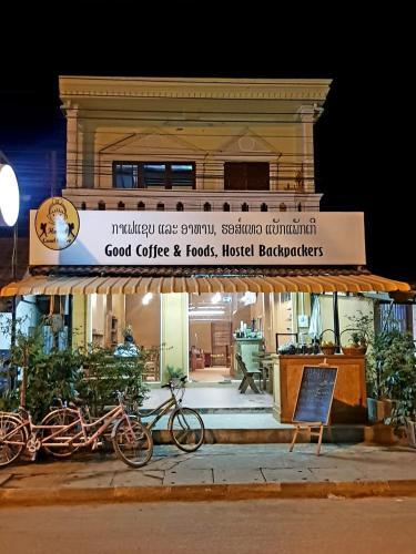 Good coffee & food hostel backpacker, Vang Vieng