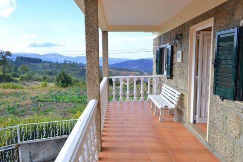 Casa de férias com vistas para a montanha